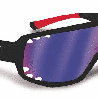 Selev Mask HD07 Black Glasses