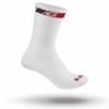 Sock White High Cut